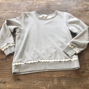 SALE 3/$15 J Crew Factory Sweatshirt Gray Small